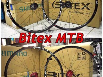 New BITEX ล้อเสือภูเขา และ ไฮบริดดิสเบรค มีขนาด 26 / 27.5 / 29