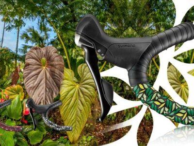 ผ้าพันแฮนด์ CICLOVATION รุ่น Premium สี Rainforest ป่าฝน