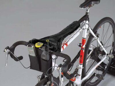 ผ้าพันเหงื่อสำหรับปั่นจักรยานบนเทรนเนอร์