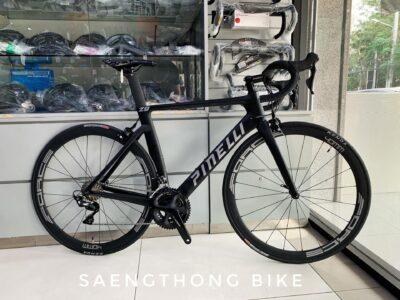 จักรยานเสือหมอบแอโร่ Pinelli Z9 Carbon สีดำ