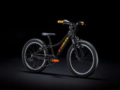 จักรยานเสือภูเขาเด็ก TREK Precaliber 20 Boy สีดำส้ม