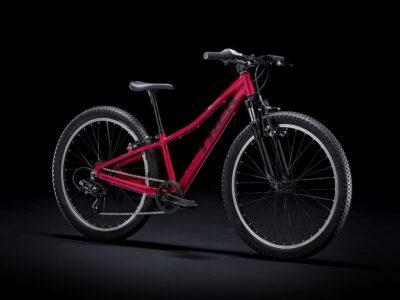 จักรยานเสือภูเขาเด็ก TREK Precaliber 24 Girl สีแดงบานเย็น Margenta