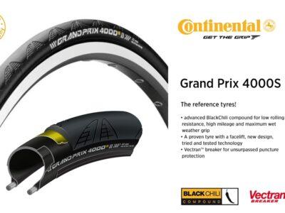 Continental GP 4000S II ขนาด 700*23c