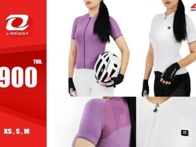 เสื้อจักรยานผู้หญิง Lameda