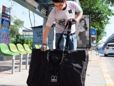 กระเป๋าสำหรับจักรยานพับ