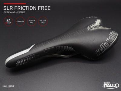 เบาะ Selle Italia รุ่น SLR Friction Free S1 Titanium Rail